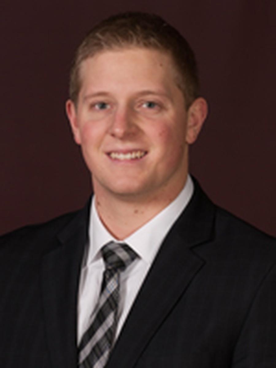 Fourth-year Brett Huff