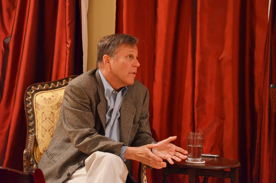Dana Gioia was invited to campus Thursday evening to read from his collection Pity the Beautiful, which he waited 11 years to publish.