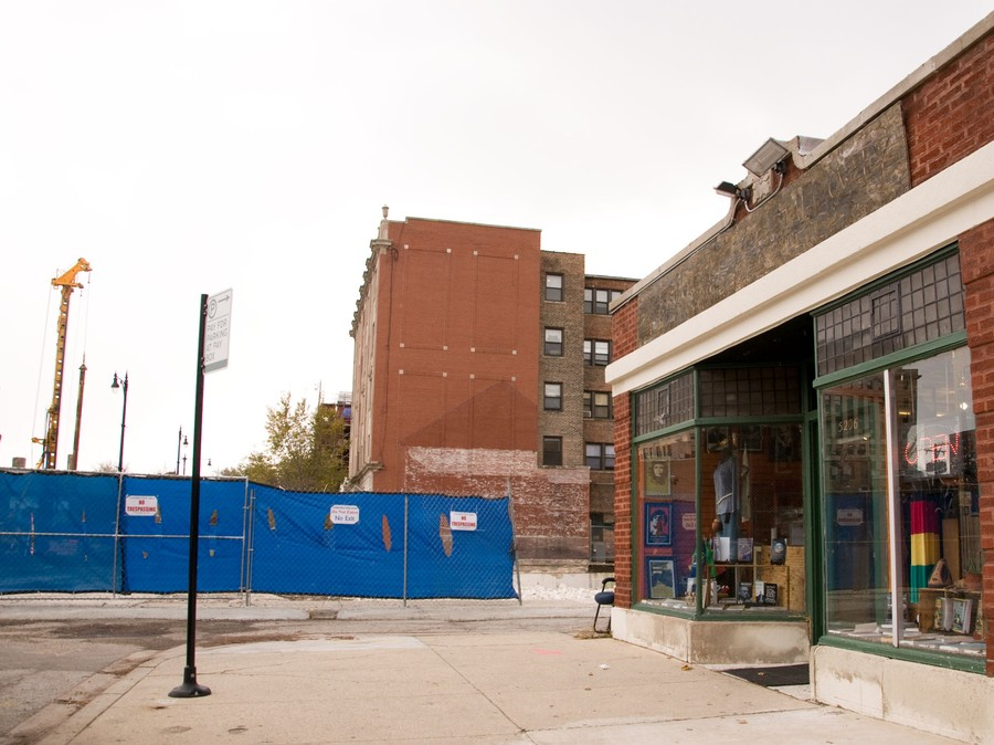 Two businesses hurt by Harper Court construction owners say