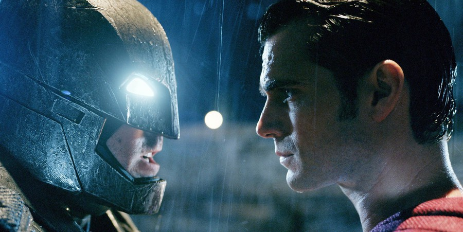 Batman (Ben Affleck) and Superman (Henry Cavill) face off in Zack Snyder's mind-numbingly action-packed blockbuster, leaving Metropolis in ruins—again.