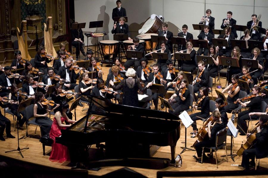 University Orchestra Shows Off Its Lisztomania