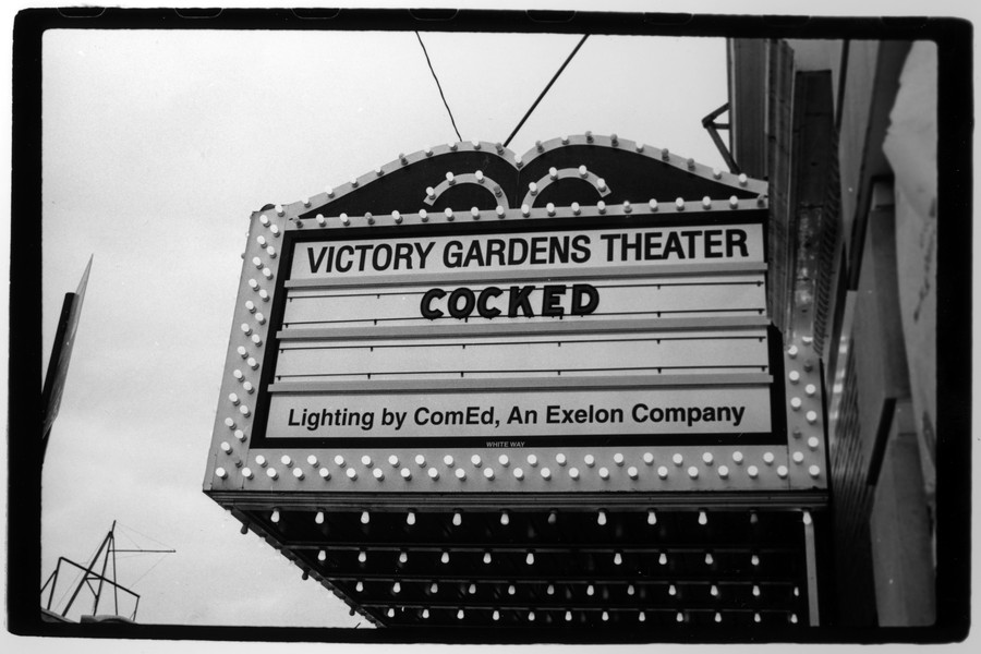 Victory Gardens is currently showing the world-premiere run of playwright Sarah Gubbins' dark comedy Cocked.