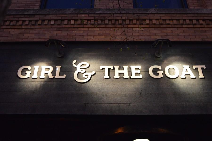 Girl & the Goat is run by Stephanie Izard, winner of Bravo's Top Chef.