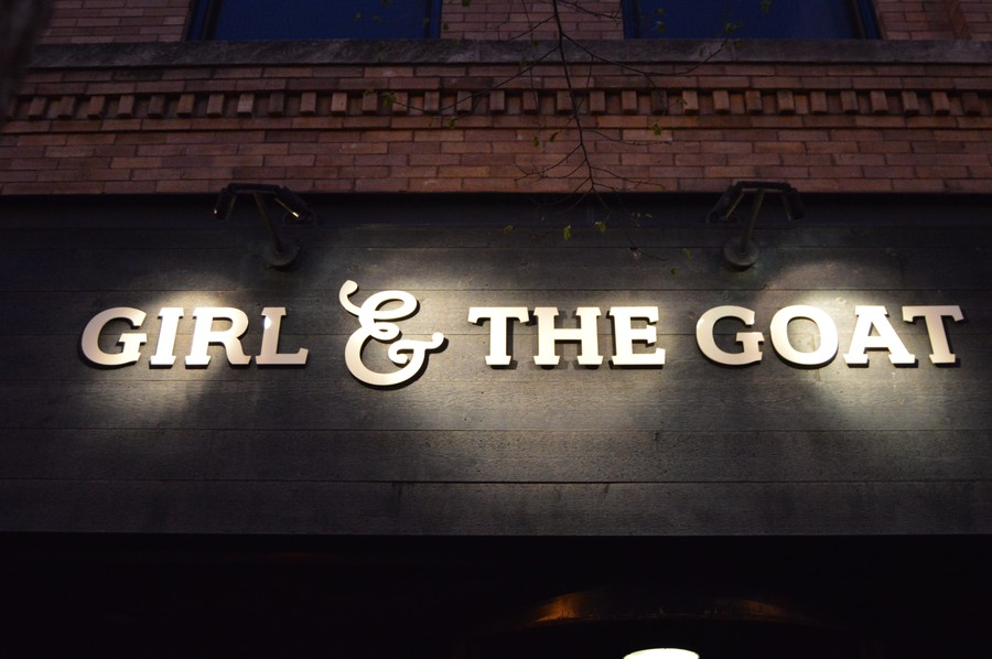 Girl & the Goat is run by Stephanie Izard, winner of Bravo's Top Chef.