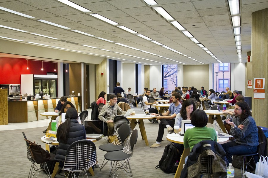 A student hotspot, Ex Libris provides a large study space as well as some of the most inventive drinks on campus.