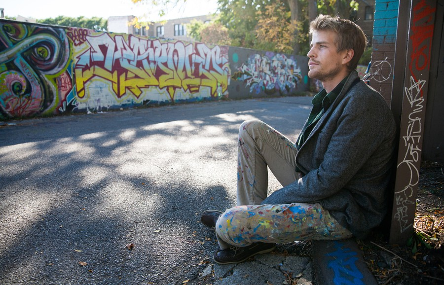 Graffiti artist Shawn Bullen reminisces about the wall's history.