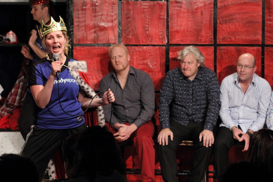 The Chicago Improv Festival is a mecca for comedy troupes all over the world, like New Zealand's Improv Bandits, pictured here during the 17th Annual Festival in 2014.