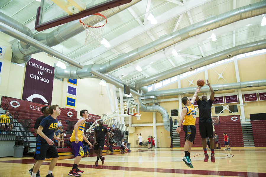 The Maroon Veterans Alliance hosted a Points for Patriots tournament last Sunday at the Ratner Athletics Center. The three-on-three charity basketball game was attended by over 150 people.