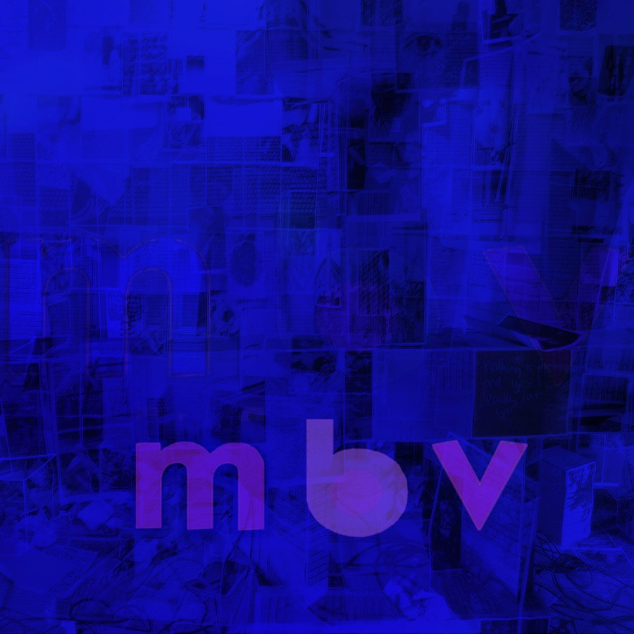 As with My Bloody Valentine's trademark obscured sound, you get out of this album art what you put in.