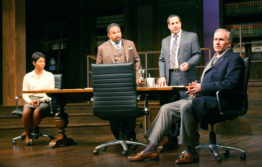 Tamberla Perry, Geoffrey Owens, Marc Grapey, and Patrick Clear take on a tricky subject.