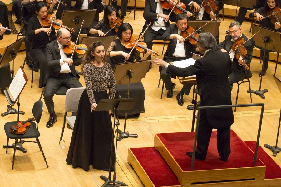 Soprano Rosa Feola joins the CSO in the final movement of Mahler's Symphony No. 4.