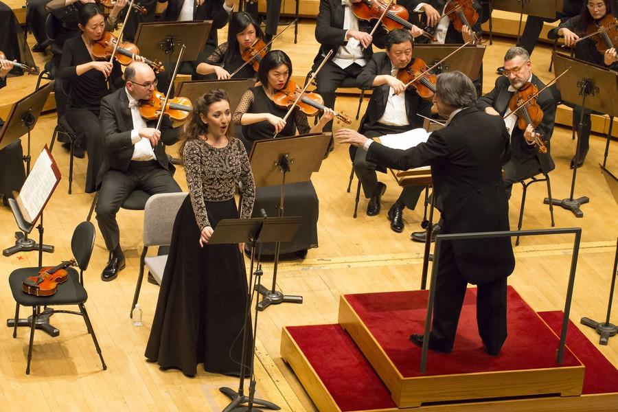 Soprano Rosa Feola joins the CSO in the final movement of Mahler's Symphony No. 4.