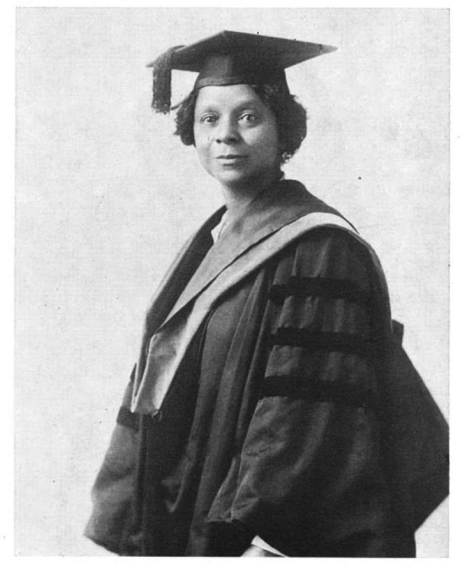 Photograph of Georgiana Simpson, 1921. Courtesy of Moorland-Spingarn Research Center, Howard University Archives