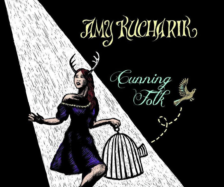 The cover of Amy Kucharik's new album, Cunning Folk.