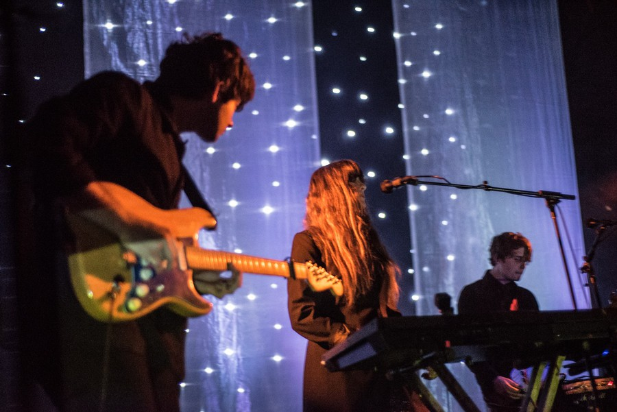 Beach House (Alex Scally and Victoria Legrand) at Los Angeles' Fonda Theater in December.