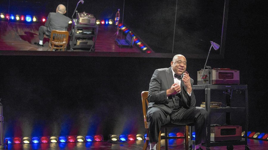 Barry Shabaka Henley stars as Louis Armstrong in the Court's Satchmo at the Waldorf.