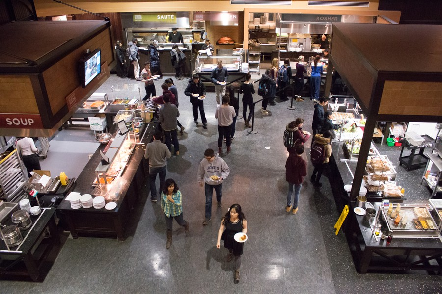 The University will switch food service providers from Aramark to Bon Appétit on July 1.