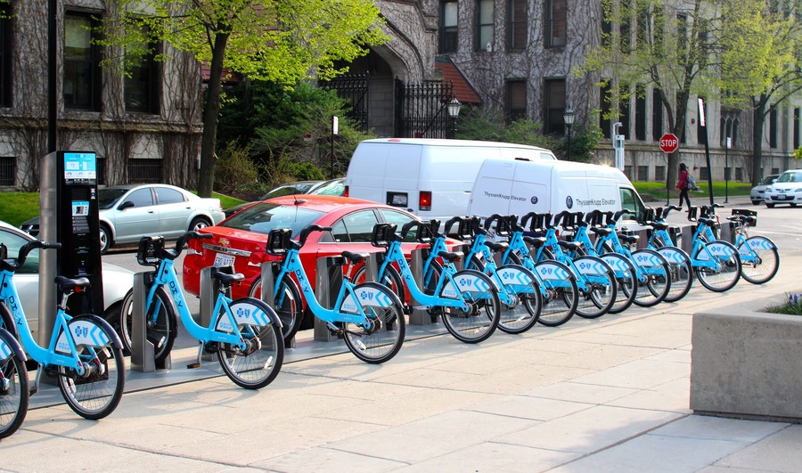 Divvy installed eight new stations around Hyde Park in the spring, offering discounts to University students who purchase annual bike memberships.