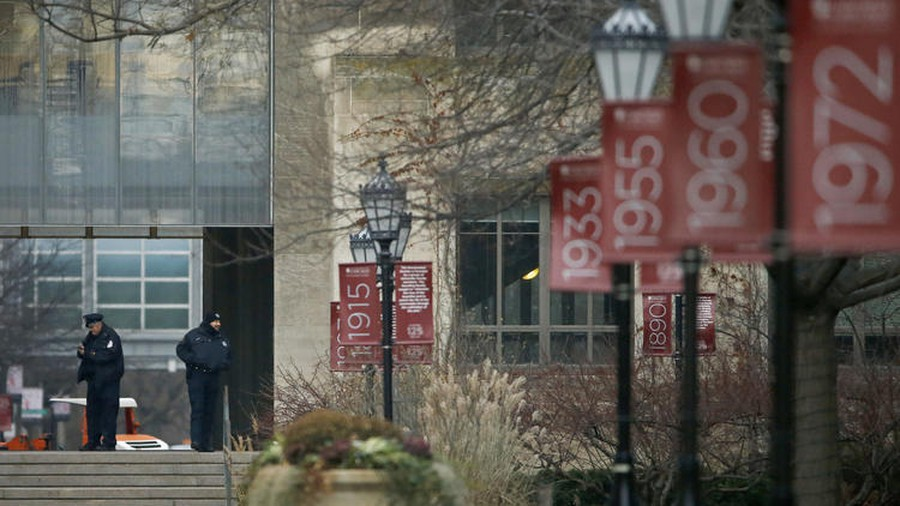 The university cancelled classes and heightened security on campus on Monday, November 30 after an online threat was made against the students and faculty.