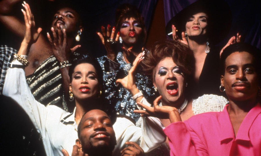 """Paris is Burning offers deeply personal portraits of New York City """"ball-walkers,"""" who have found a home in the city's vibrant drag subculture."""