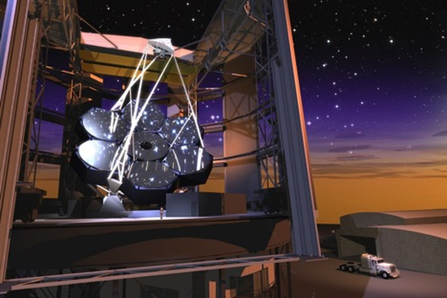 The Giant Magellan Telescope will be located at the Las Campanas Observatory in Chile's Atacama Desert.
