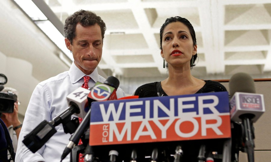 Weiner follows the 2013 mayoral campaign of former New York congressman Anthony Weiner, who resigned in 2011 amid a scandal where a series of lewd photos were leaked.