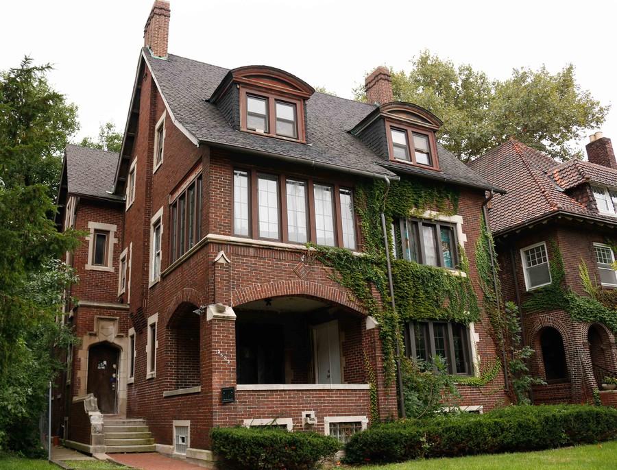 The Phi Delta Theta house.