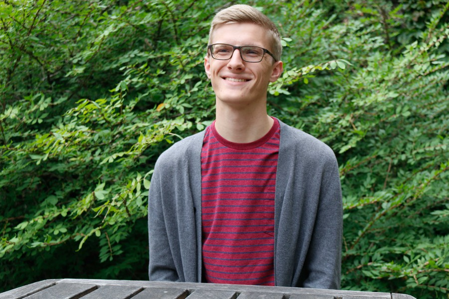 President Eric Holmberg discusses his plans for Student Government.