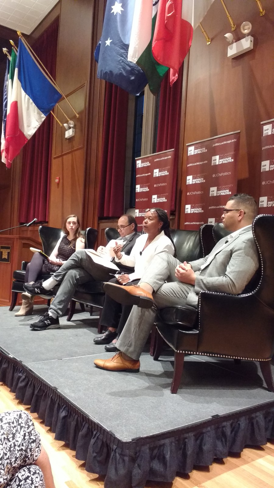 A panel was convened Monday to discuss the the Genforward survey and its findings.