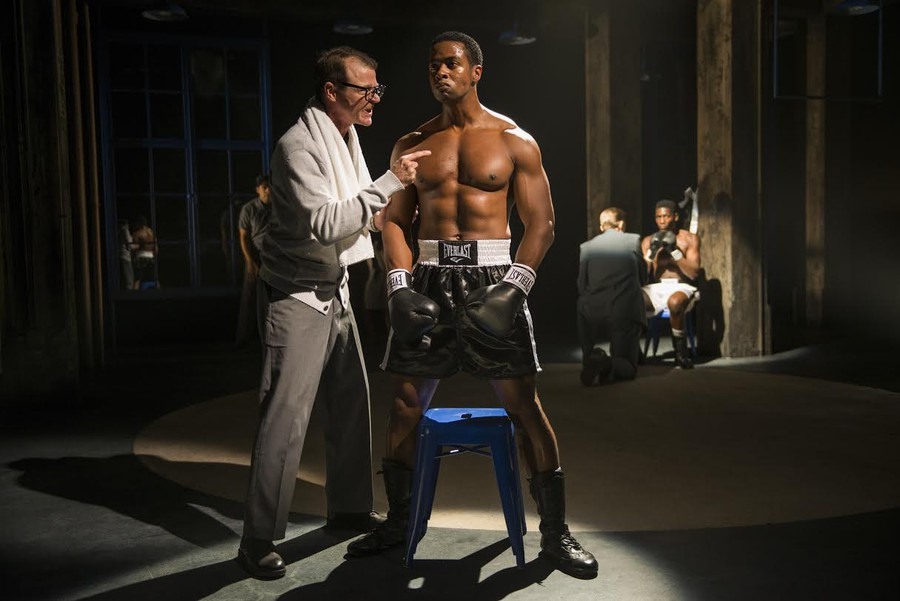 Boxer Emile Griffith struggles with both his opponents and himself in a performance written by Pulitzer and Tony Award-winning playwright Michael Cristoffer