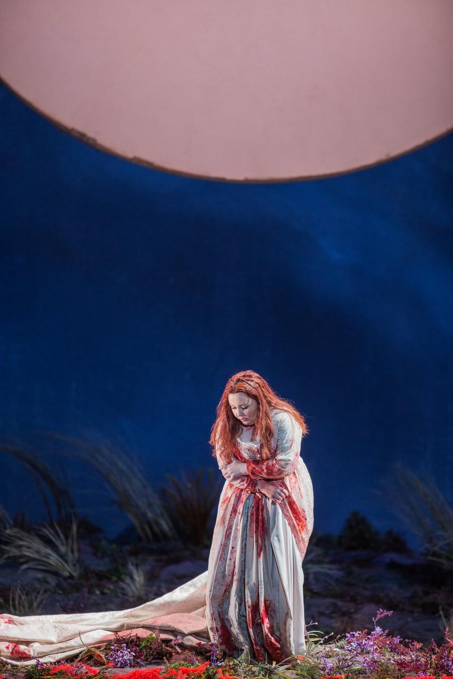 As Lucia, soprano Albina Shagimuratova devastates in the infamous mad scene.