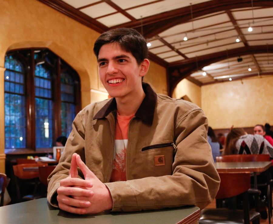 Second-year Isaac Troncoso started Chicago Strategies.