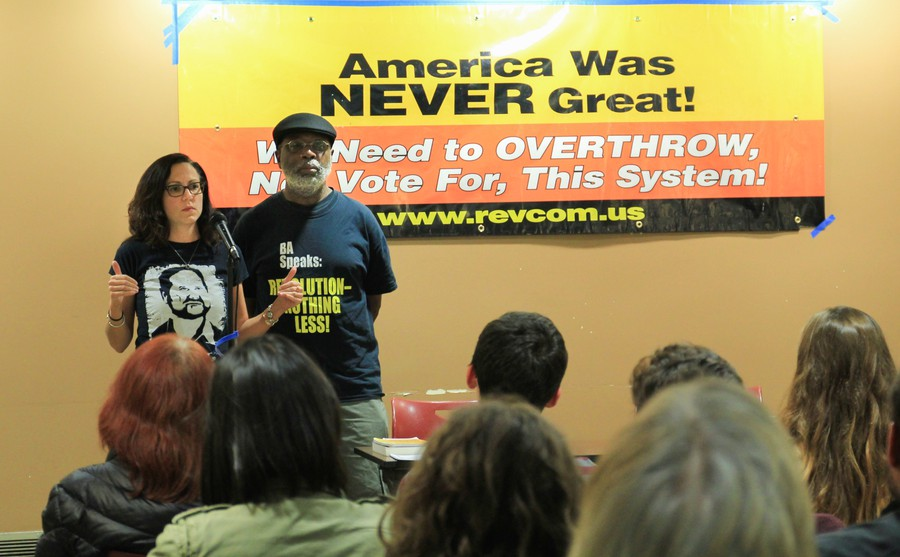 Carl Dix and Sunsara Taylor explain the approach of the Revolutionary Communist Party.