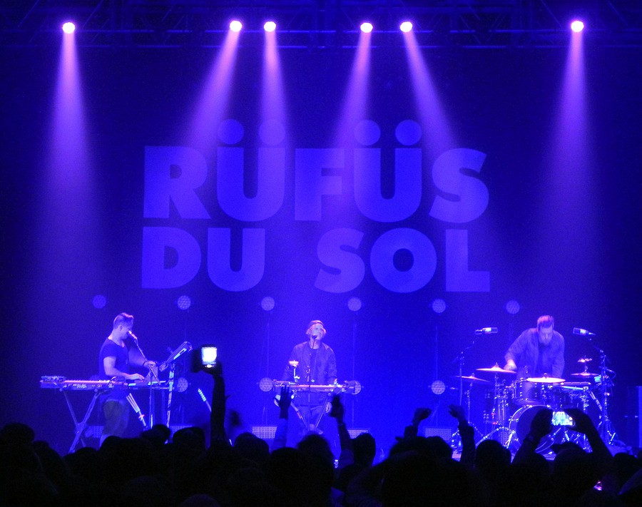 """""""We wanted the album to have an aquatic feeling, like you're underwater and shit,"""" said Rüfüs Du Sol's James Hunt."""
