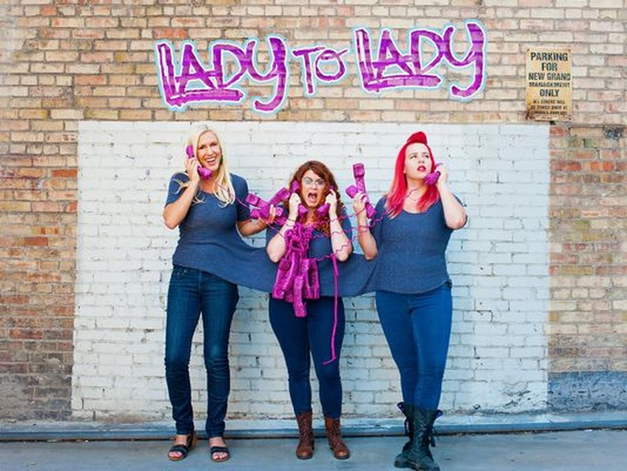 "Tess Barker, Barbara Gray and Brandie Posey, are the ladies behind the podcast ""Lady to Lady""."