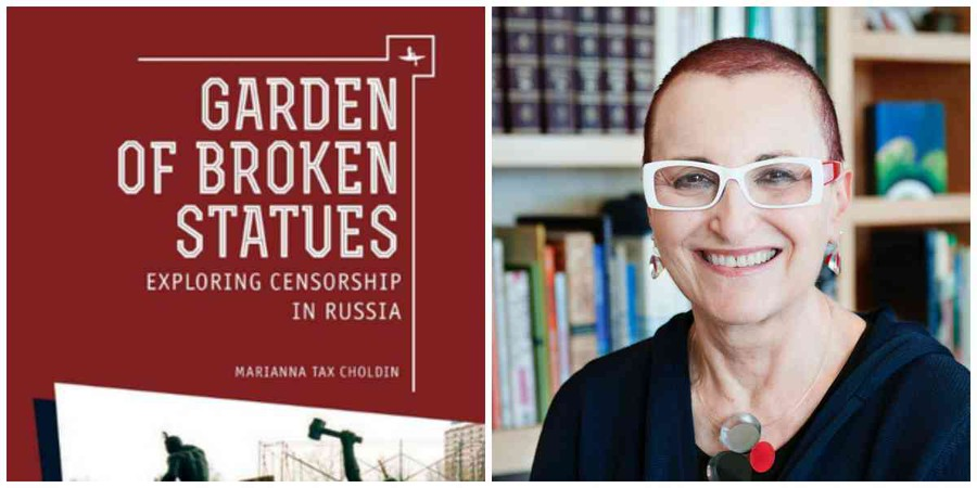 "Marianna Tax Choldin returns to UChicago to discuss her memoir, ""Garden of Broken Statues: Exploring Censorship in Russia."""