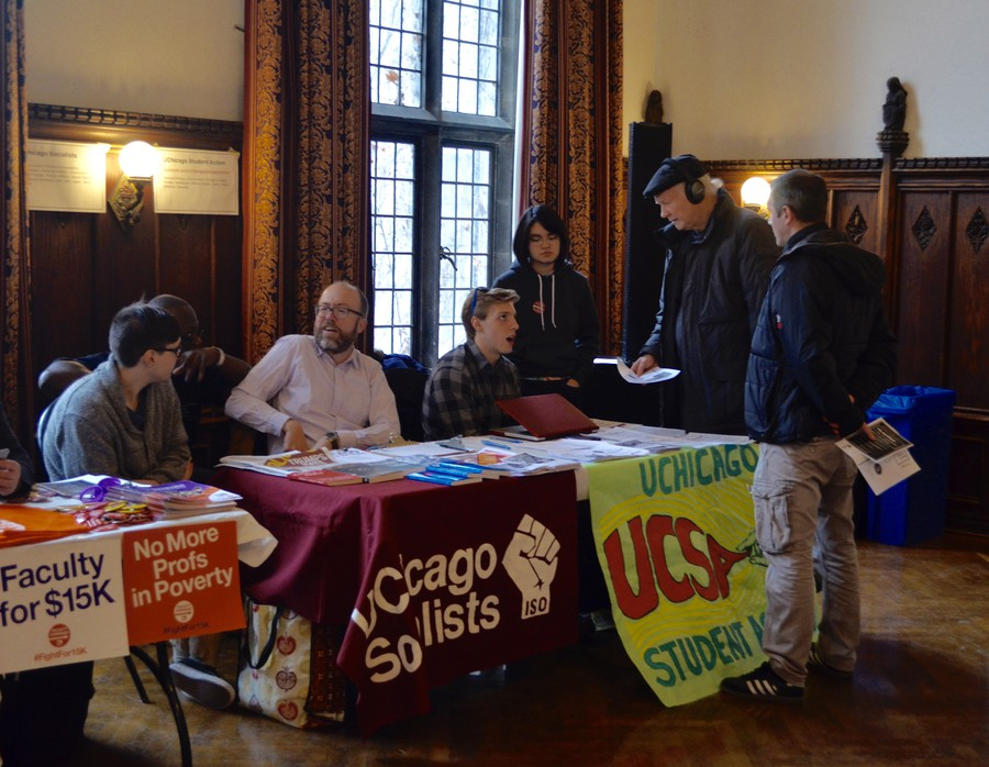 RSOs and off-campus organizations held booths at the Re:action event.
