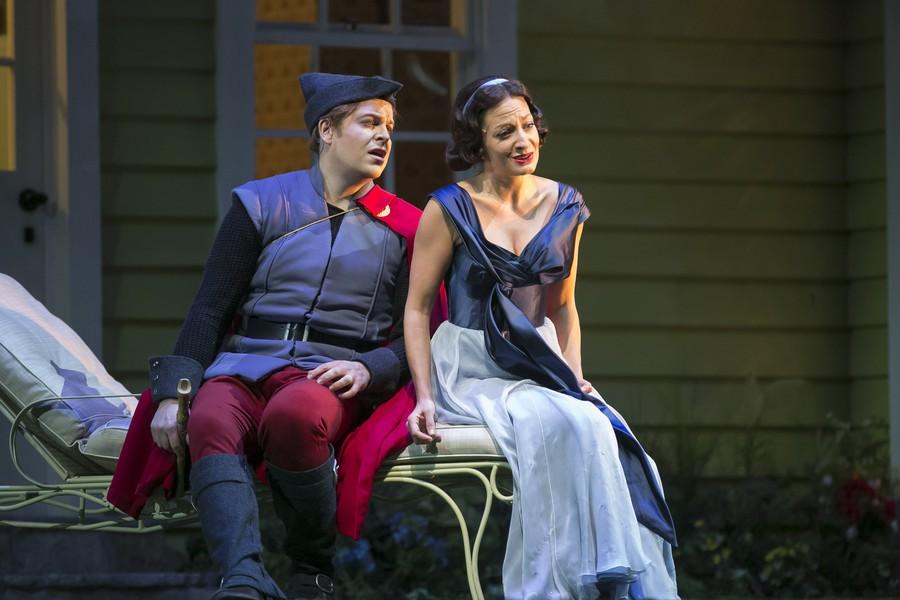 "Andrew Staples and Christiane Karg star in Lyric Opera's ""The Magic Flute."""