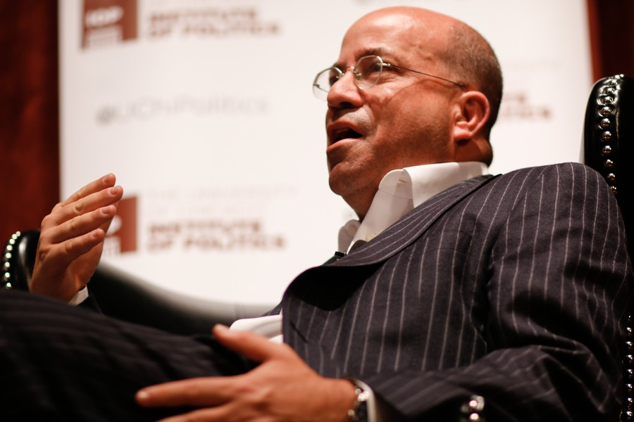 Jeff Zucker stopped by the Institute of Politics to discuss the current political climate.