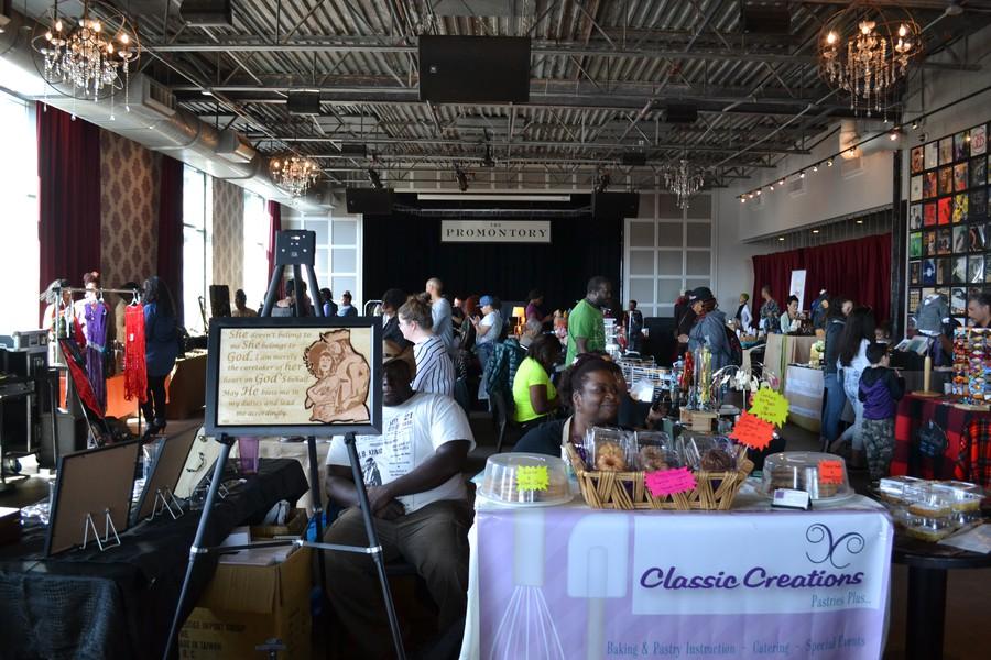 The monthly Hyde Park Handmade Bazaar took place last Sunday, February 19.