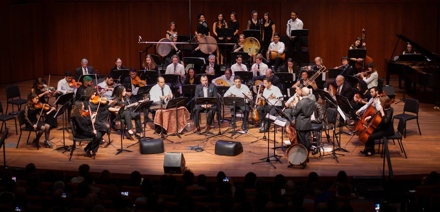 Over 300 people attended the Middle Eastern Music Ensemble's annual Persian Concert.
