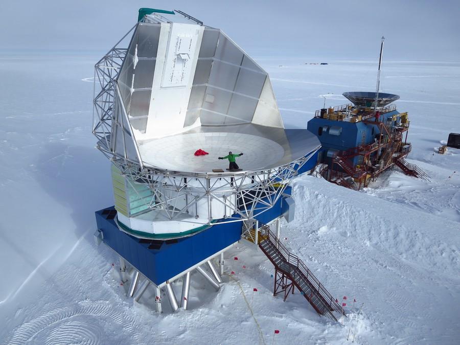 The South Pole Telescope