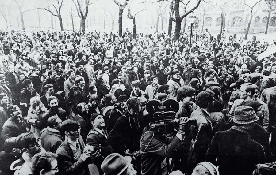 In 1969, hundreds of students occupied the admin building for weeks. More than 60 students were expelled, which led to a re-evaluation of disciplinary systems. Disruptive protests last year spurred a similar re-evaluation and that process is ongoing.