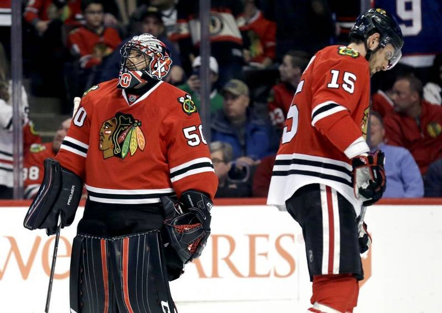 The road for the Blackhawks is uncertain from this point on.