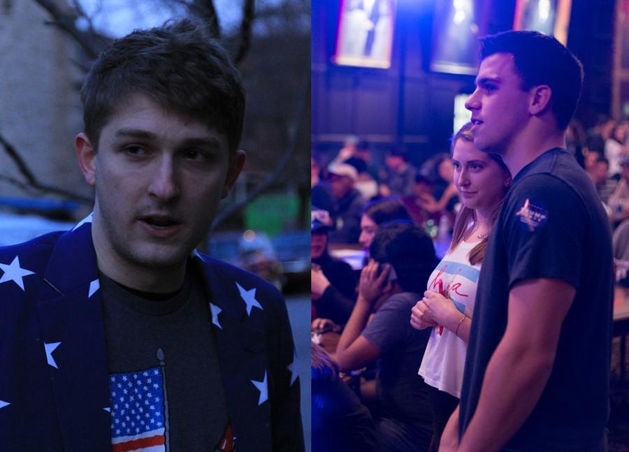 Left: Matthew Foldi (Maroon photo) / Right: Josh Parks (Institute of Politics photo)