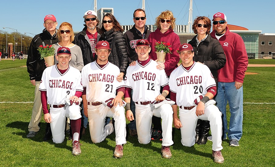 The graduating seniors are honored with their parents on Senior Day.