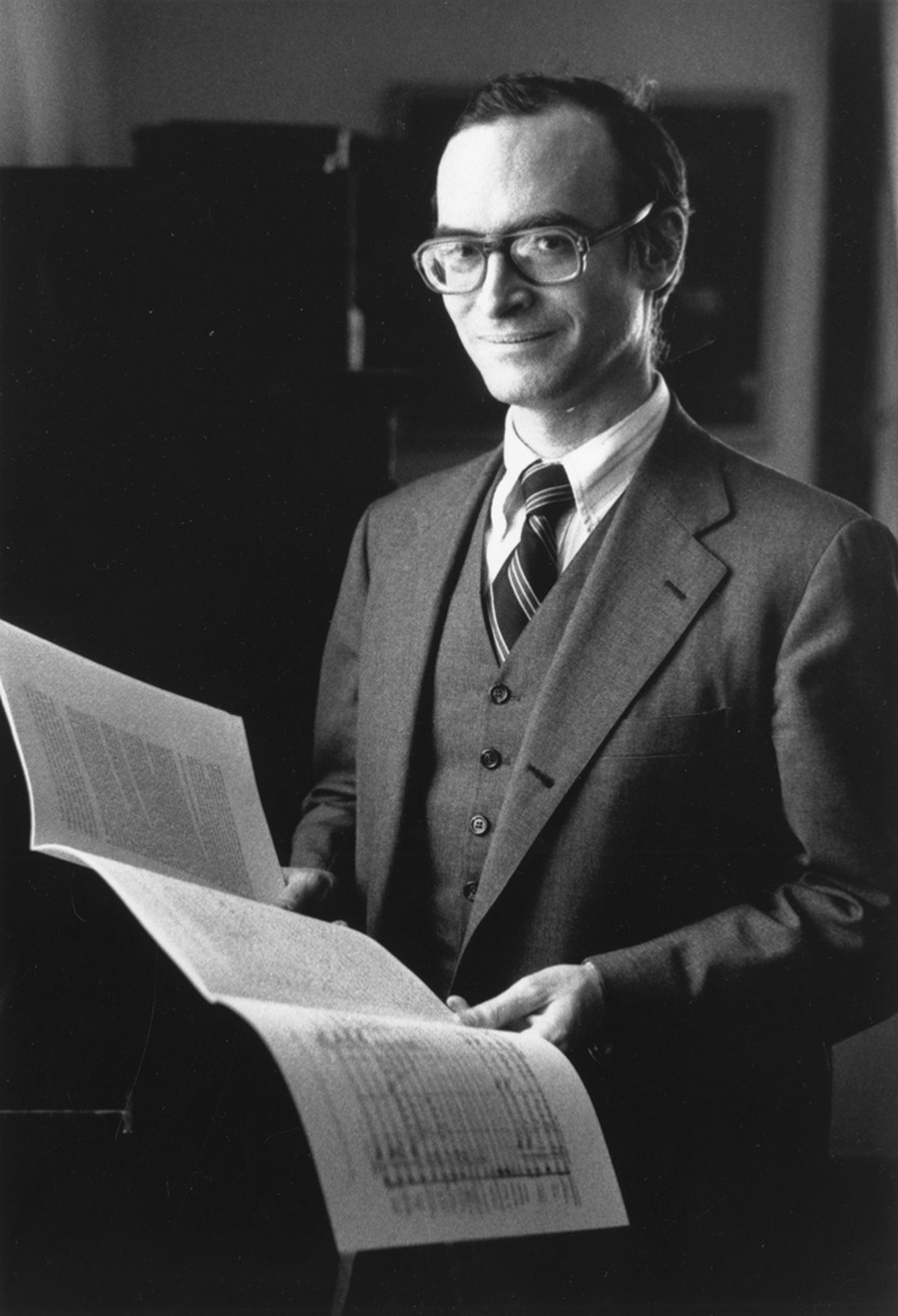 Robert W. Reneker Distinguished Service Professor of Music Philip Gossett, circa 1975.