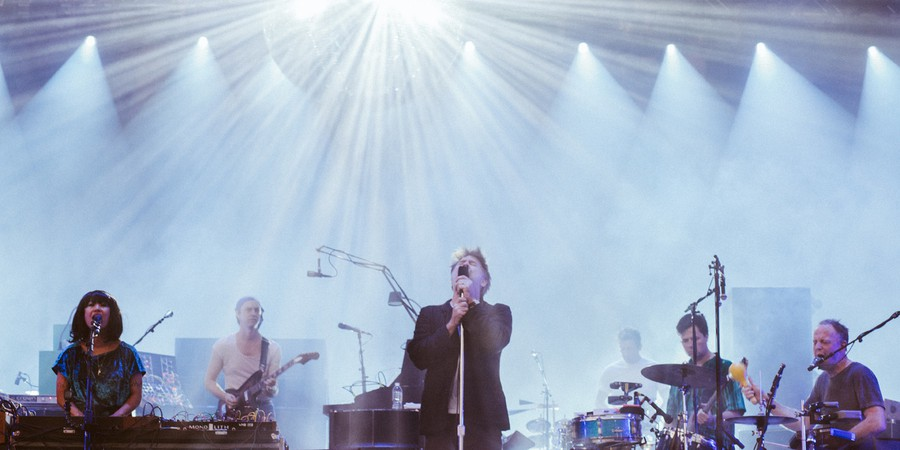 LCD Soundsystem performed at Pitchfork Music Festival on Friday, July 14, 2017.