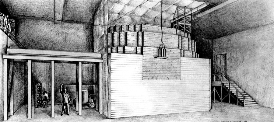 Chicago Pile 1, the world's first nuclear reactor, was built beneath the University of Chicago's football field.