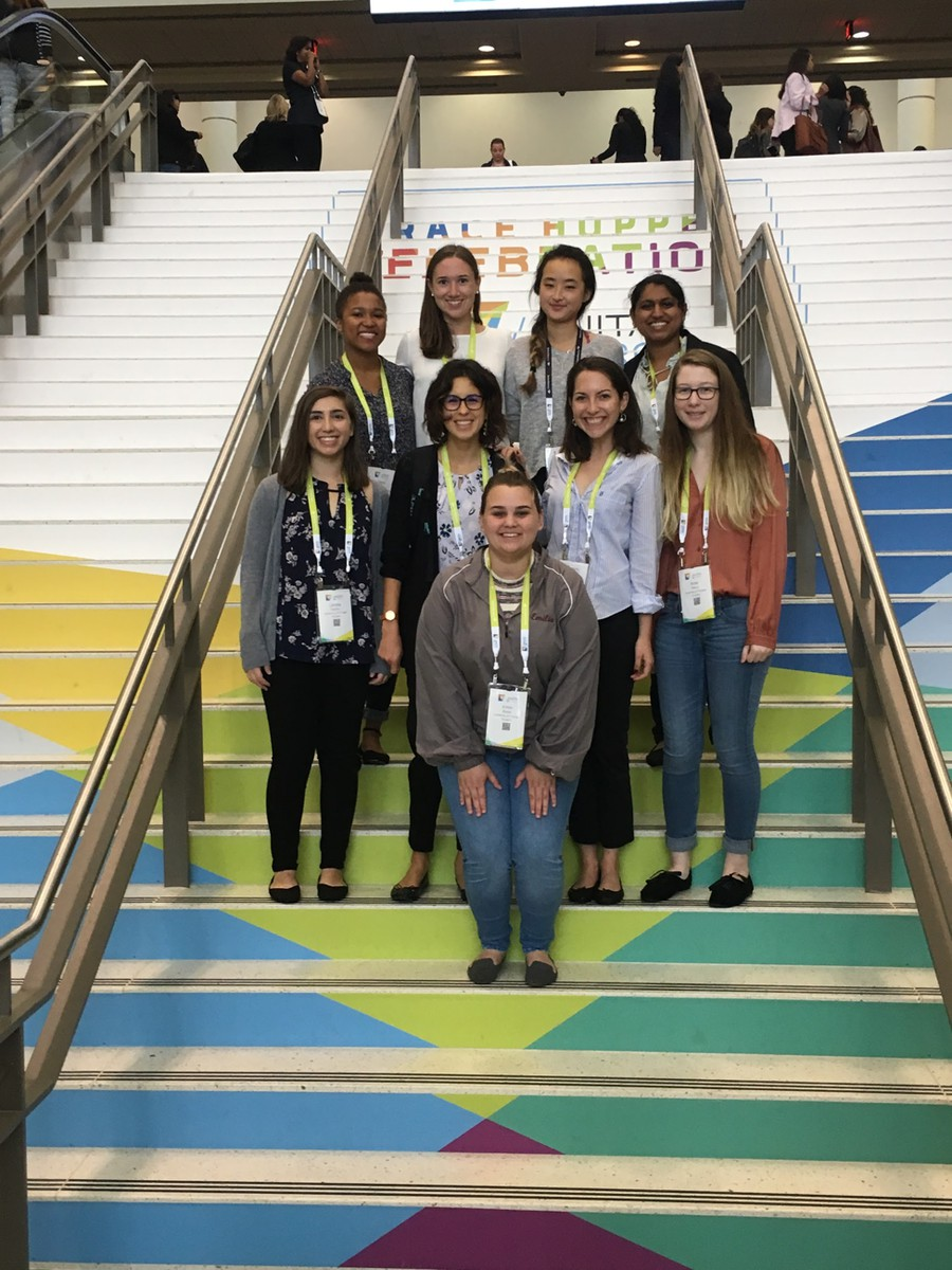 Nine university students spent three days in Orlando, Florida, meeting top female tech industry professionals.